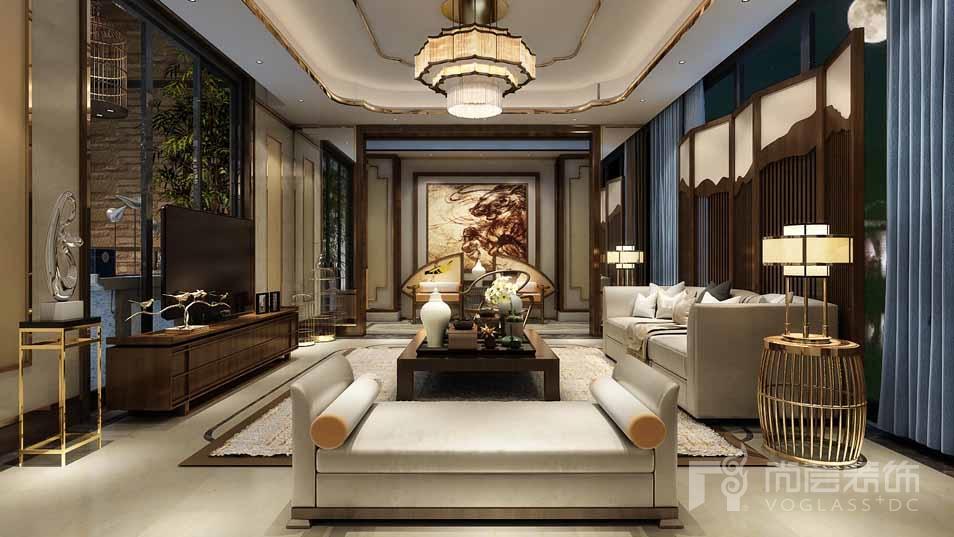 北京院子混搭客厅别墅装修效果图