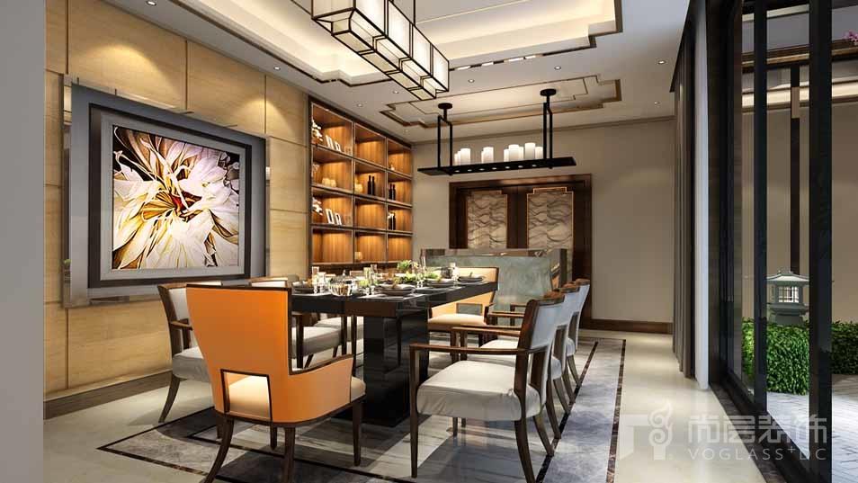 北京院子混搭餐厅别墅装修效果图