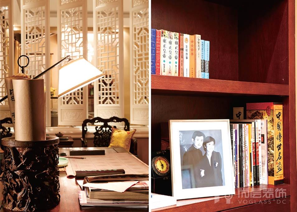 西山林语书房的配饰设计