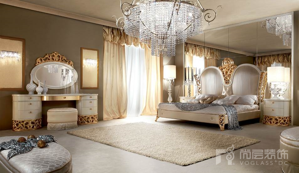 尚层装饰合作品牌Lanpas乌檀木系列卧室