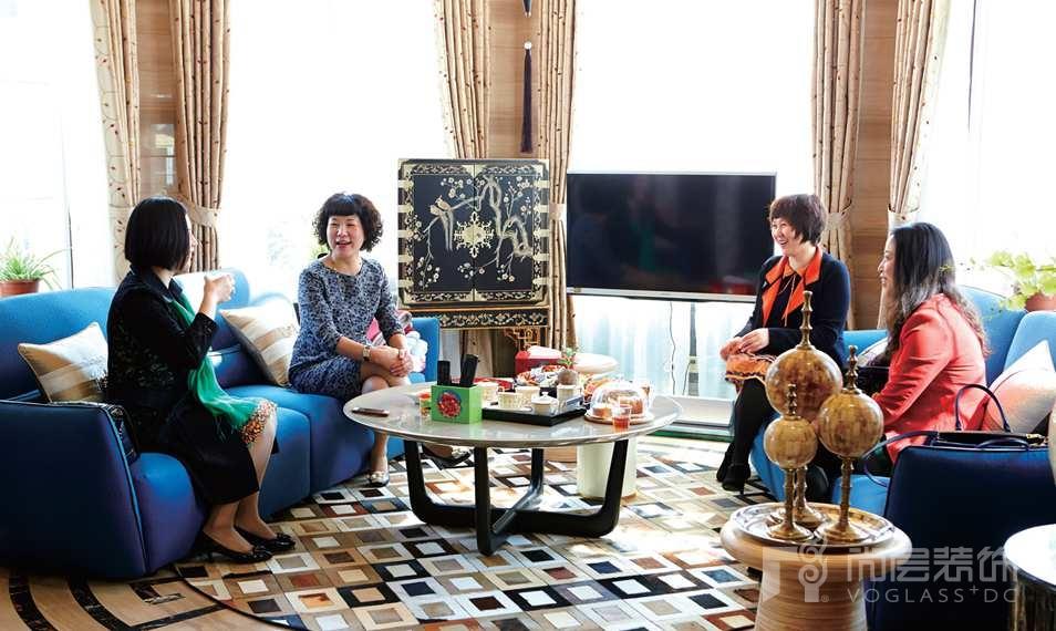 銀麗高爾夫別墅裝修女業主和她的朋友們
