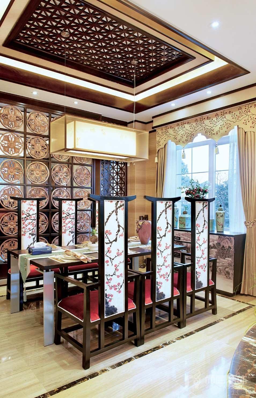 银丽高尔夫餐厅别墅装修实景图