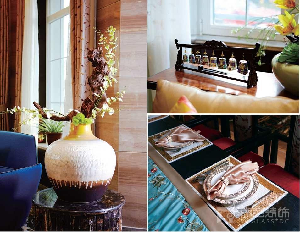 银丽高尔夫别墅装修业主喜欢的装饰品