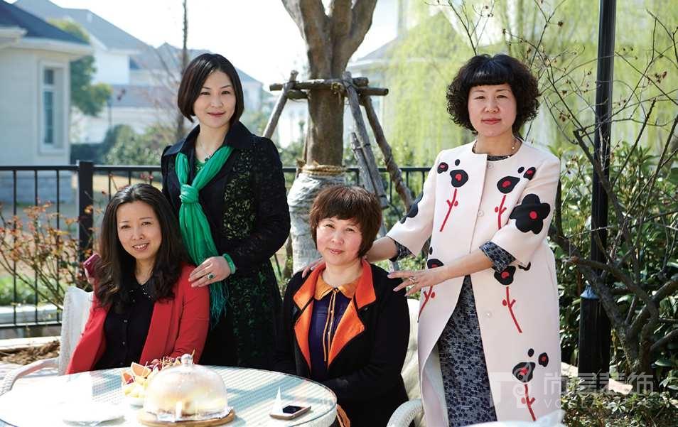 銀麗高爾夫別墅裝修業主與她的閨蜜們