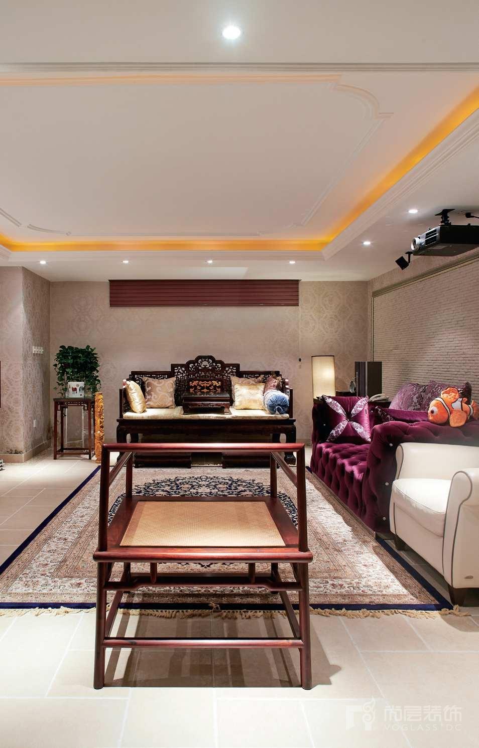 西山林语别墅装修业主喜欢的东方风格