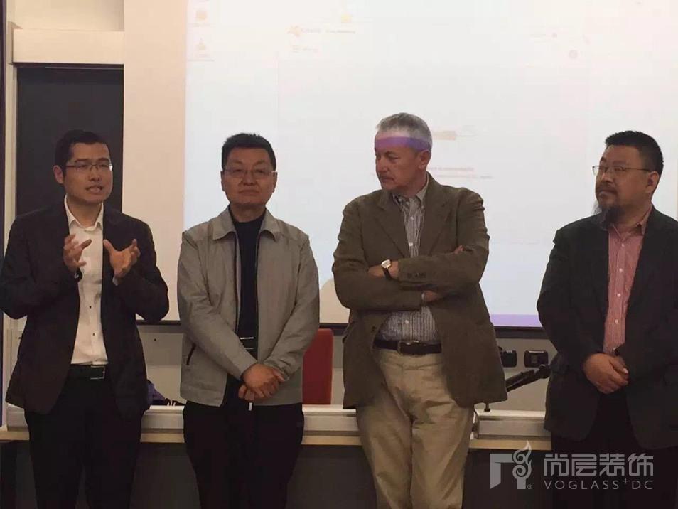尚层装饰集林云松先生在IMOLA第七期国际游学精品班开班仪式上讲话