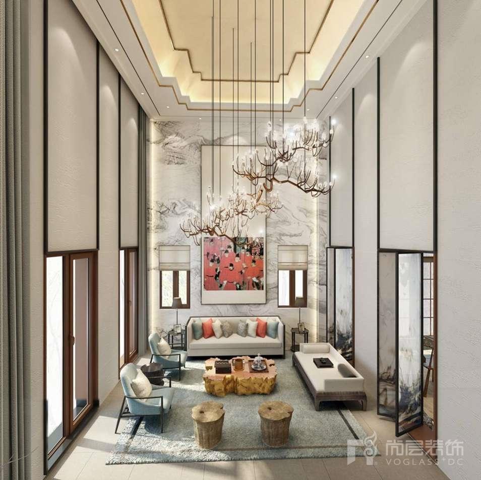 尚层装饰首席设计师徐海萍别墅设计作品