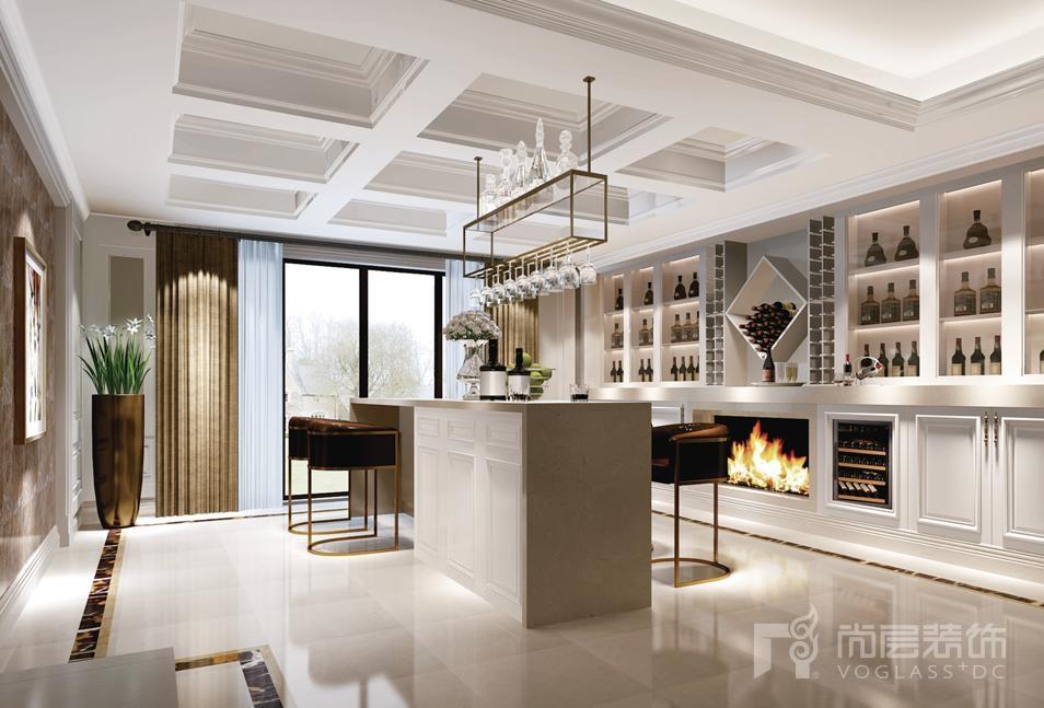 尚层装饰设计师齐成良的别墅设计作品