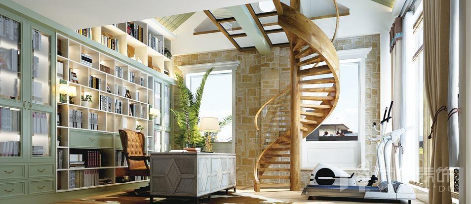 尚层装饰设计师齐成良的别墅设计作品效果图