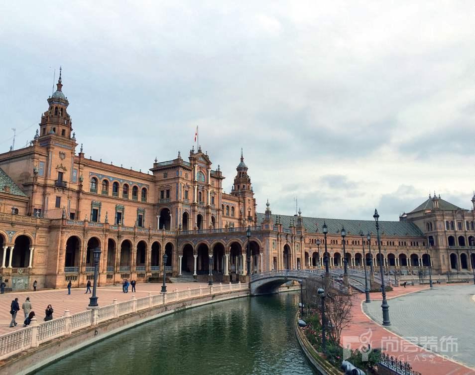 尚层装饰设计师张岭到西班牙游学拍摄的圣家堂