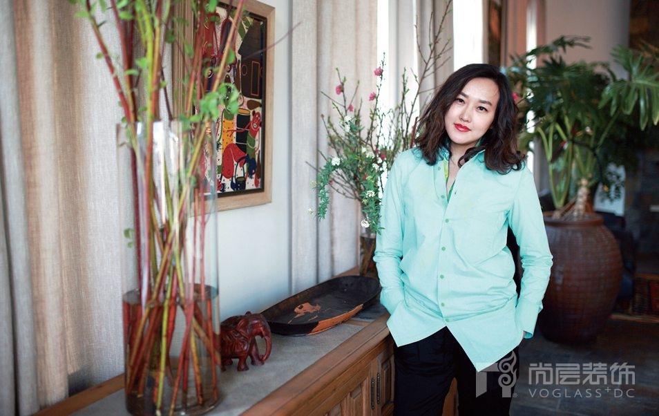 尚层设计事务所 张萍工作室总设计师张萍生活照