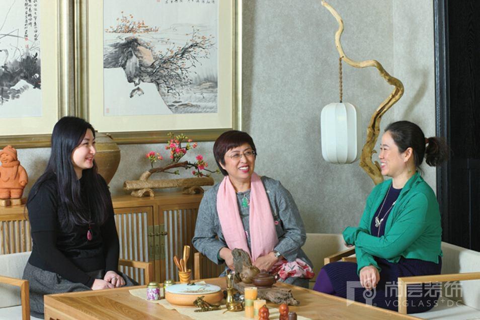 尚层事务所设计师张岭与张崇檀女士