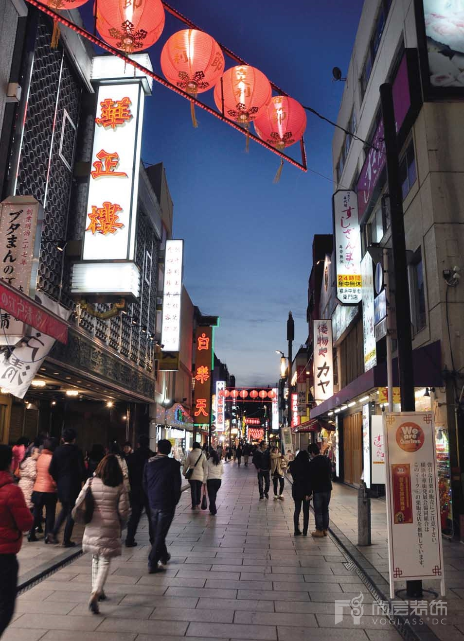 尚层客户李女士行走于日本