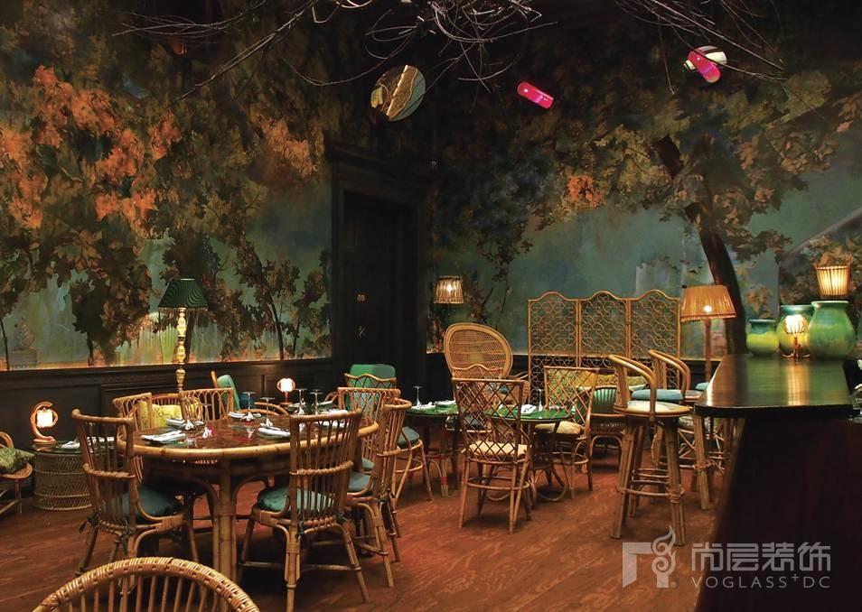尚层装饰别墅生活伦敦Sketch餐厅