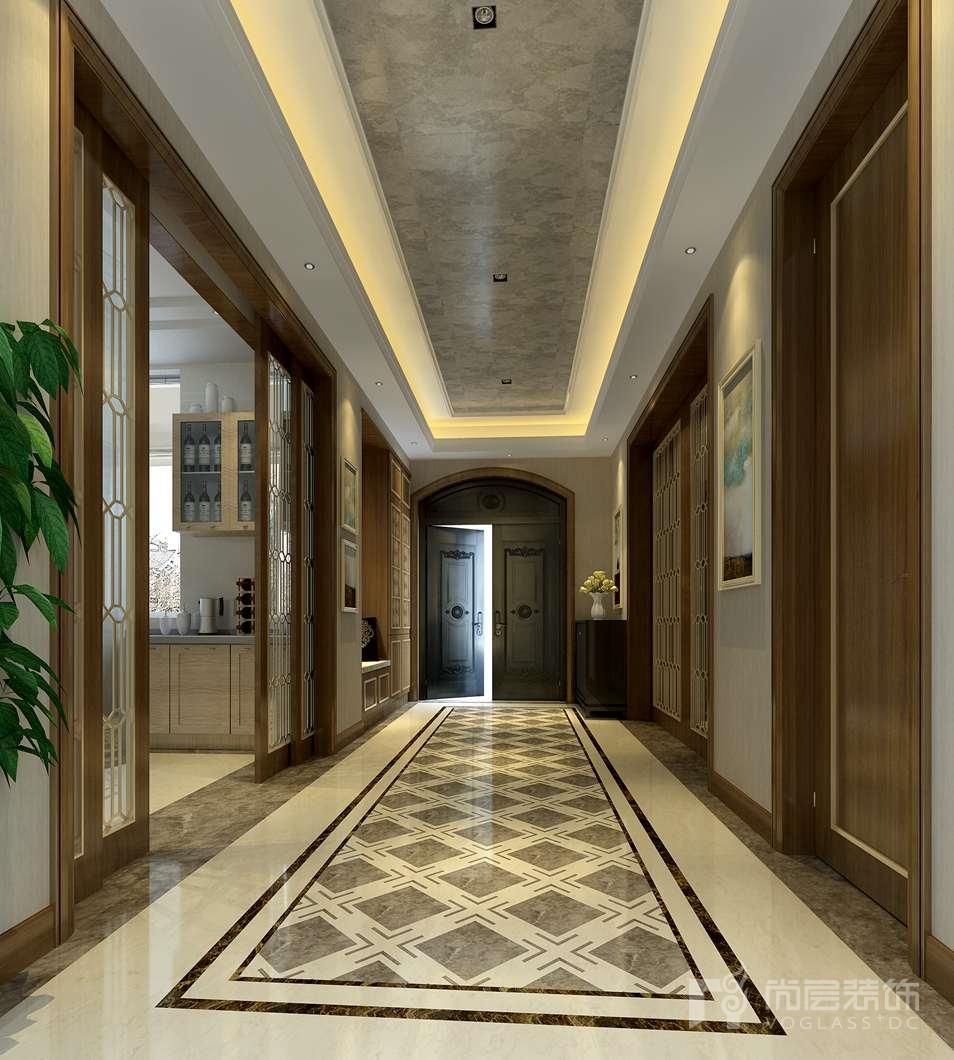 新世界·丽樽新装饰主义门厅别墅装修效果图