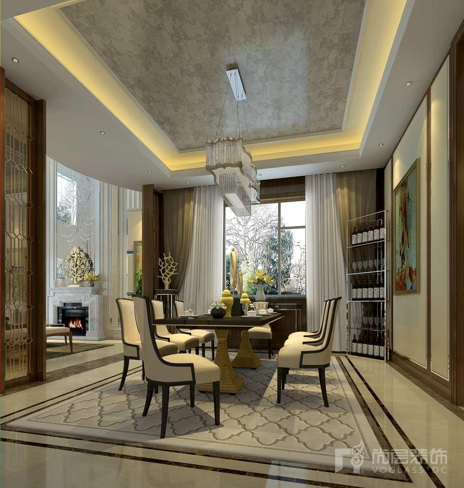新世界·丽樽新装饰主义餐厅别墅装修效果图