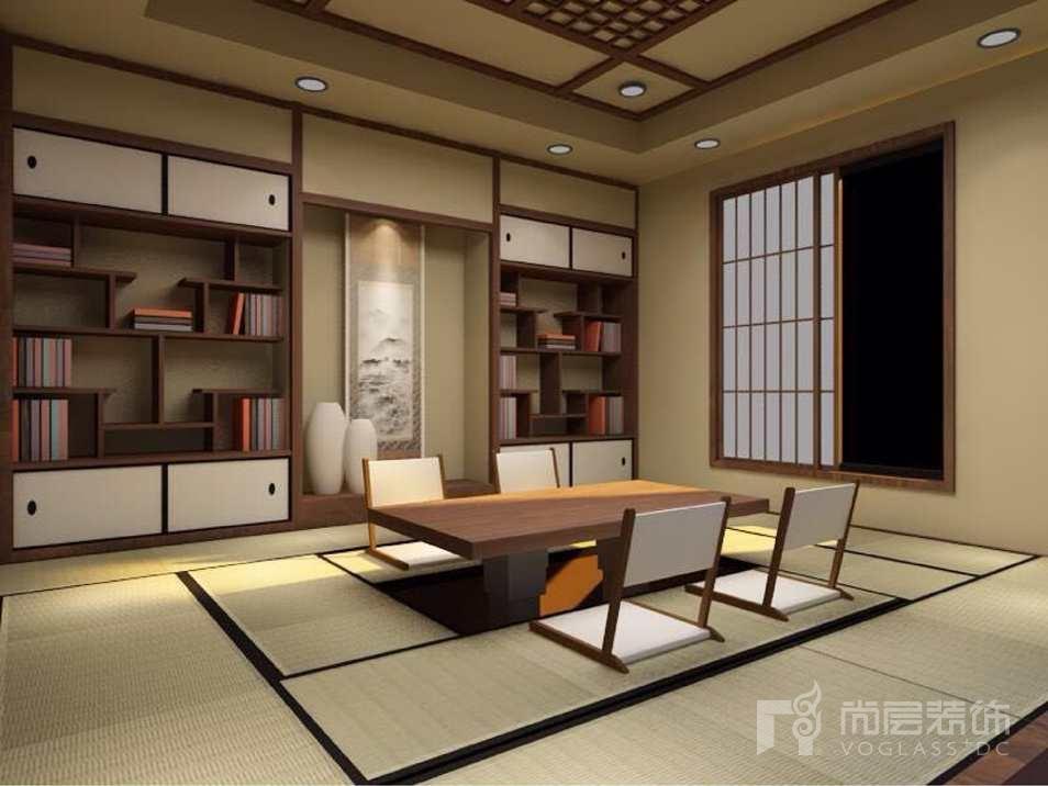 远洋天著欧式新古典茶室别墅装修效果图