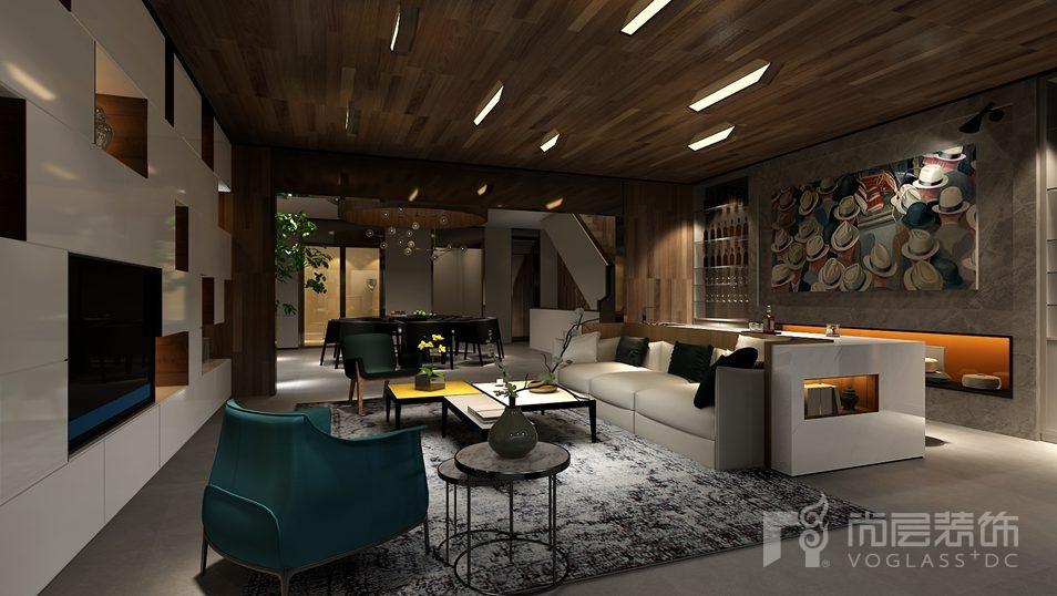远洋天著现代简约家庭室别墅装修效果图