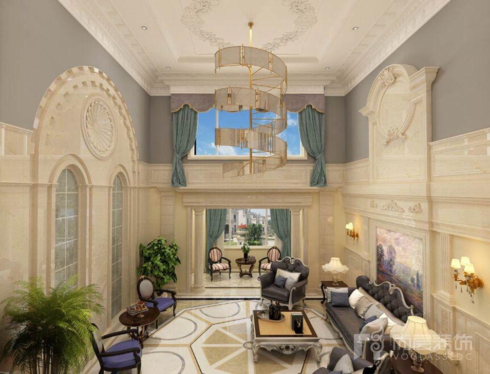 丽樽新世界法式家庭室别墅装修效果图