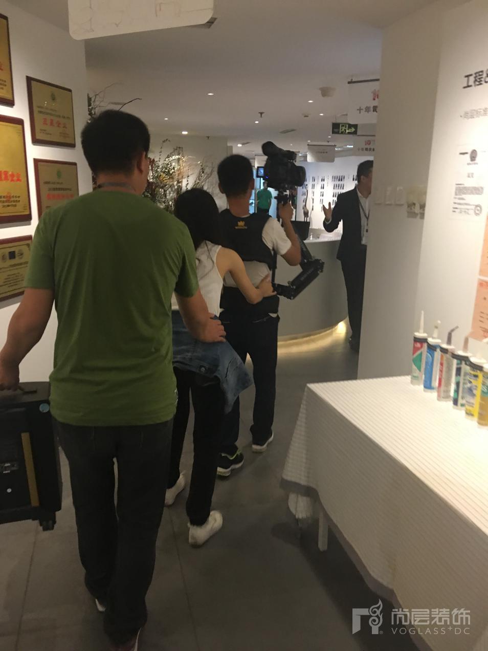 尚层装饰十周年司庆幕后拍摄工作者