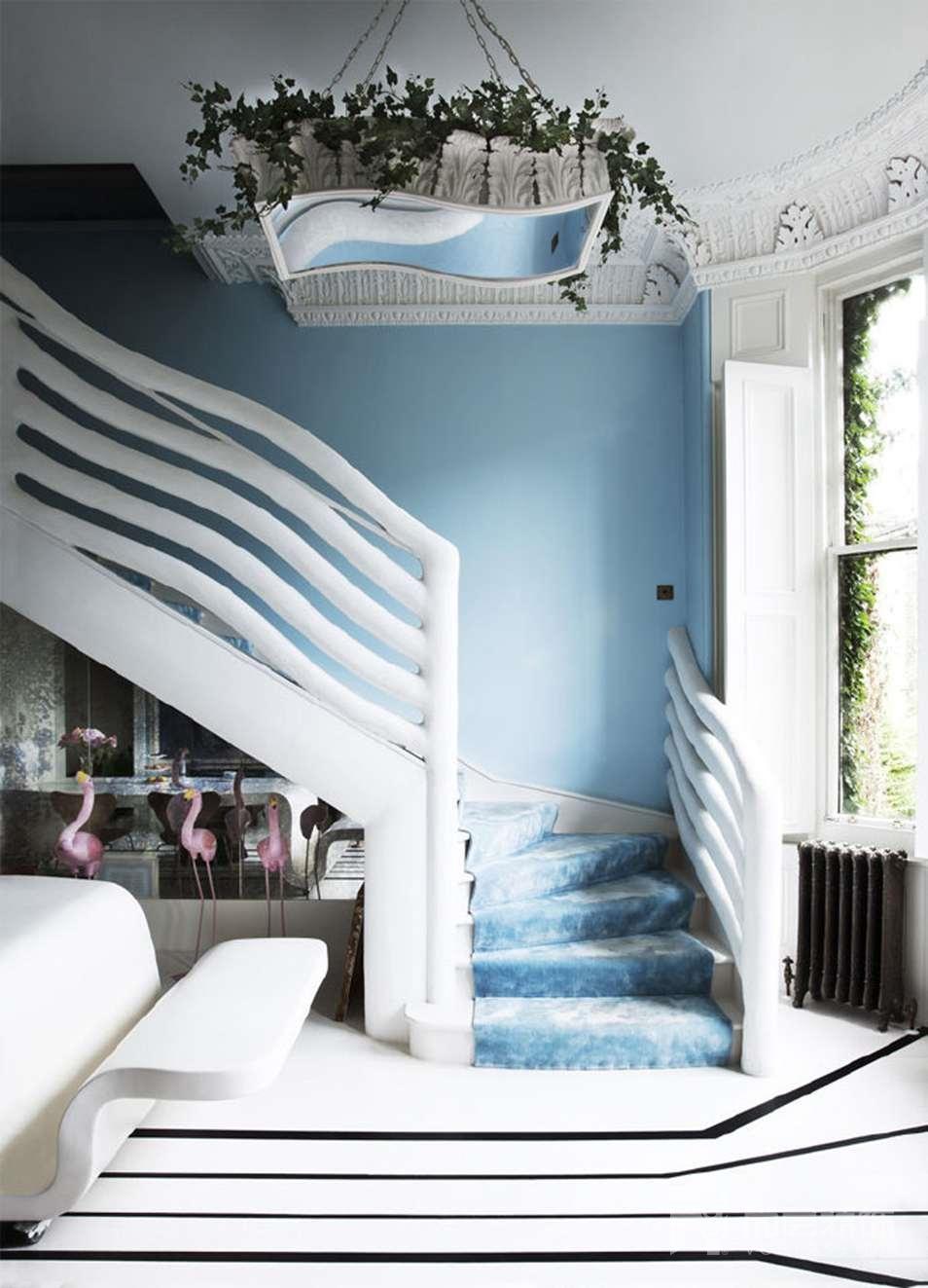 尚层室内软装配饰蓝色家居设计