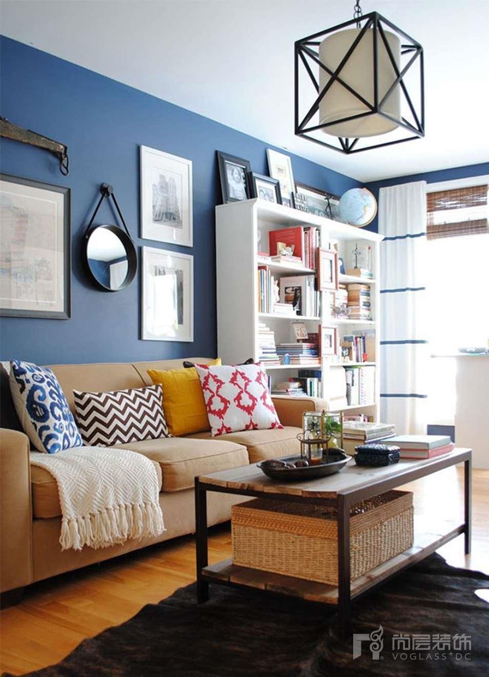 尚层软装配饰设计色彩攻略-蓝色搭配