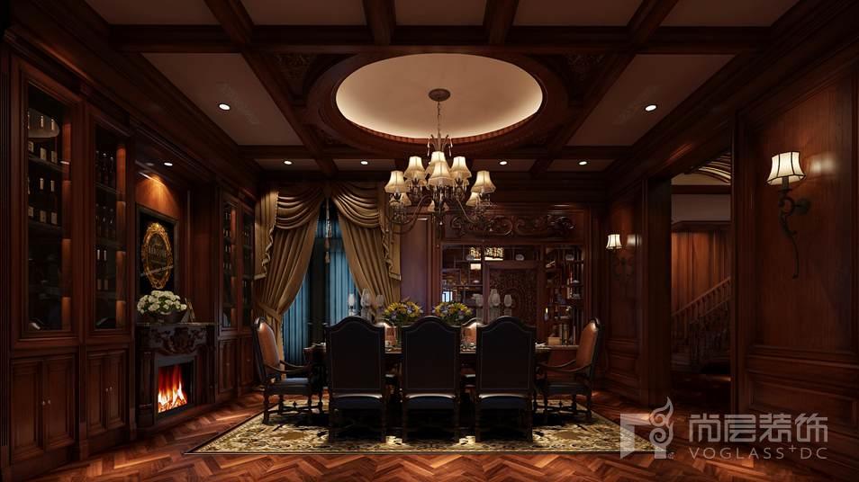 颐和原著怀旧古典餐厅别墅装修效果图