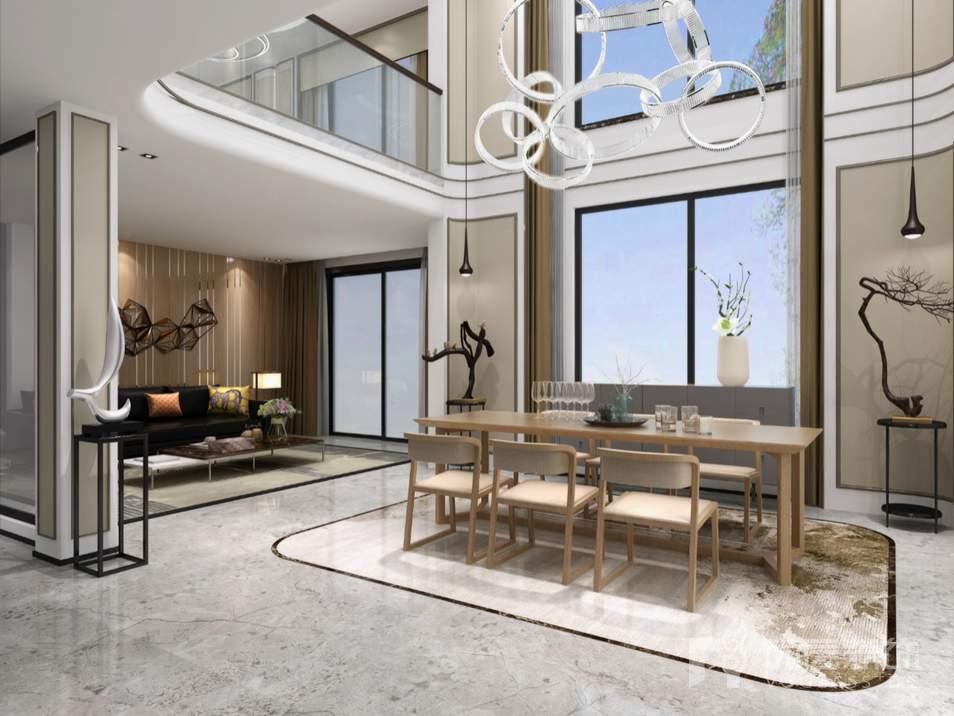 棕榈滩中式多功能区别墅装修效果图