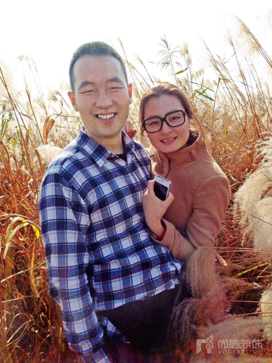 董延伟和他的妻子