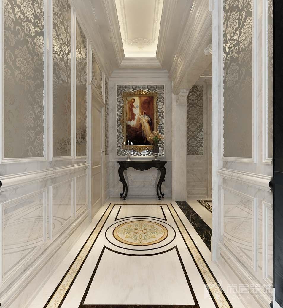 嘉禾一方新古典门厅别墅装修效果图