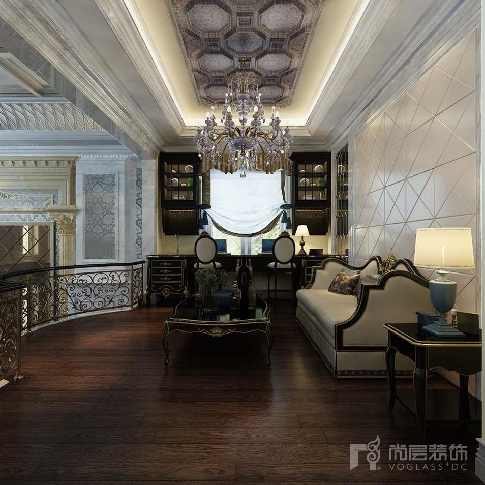 嘉禾一方新古典家庭室别墅装修效果图