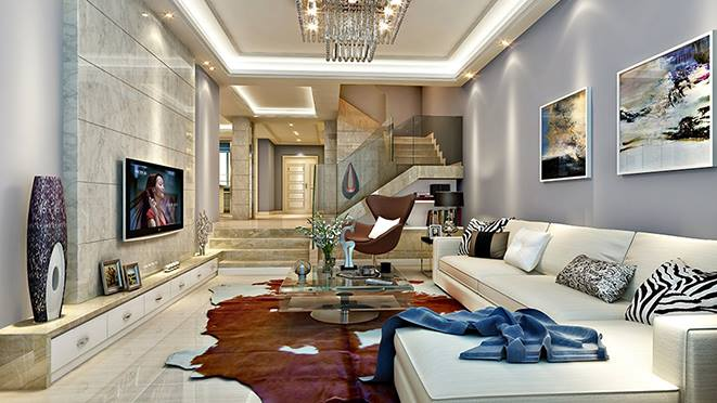 九龍山莊別墅裝飾案例-杭州尚層裝飾