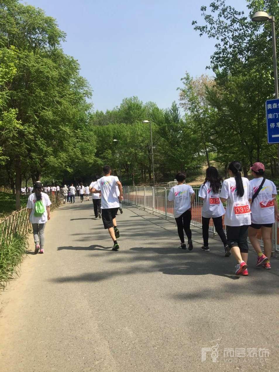 北京尚层装饰千人路跑运动会