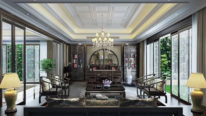 桐廬大奇山郡別墅裝飾-簡約法式風格-杭州尚層別墅裝飾