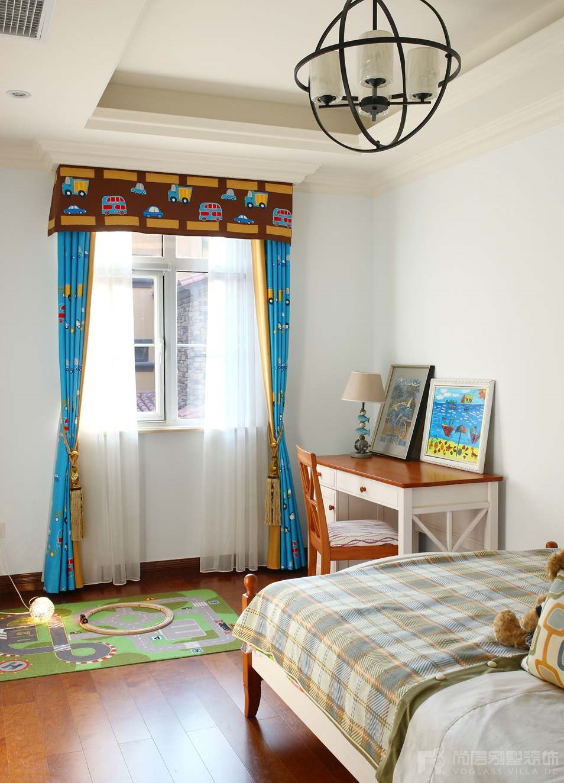 国际半岛托斯卡纳儿童房别墅装修实景图