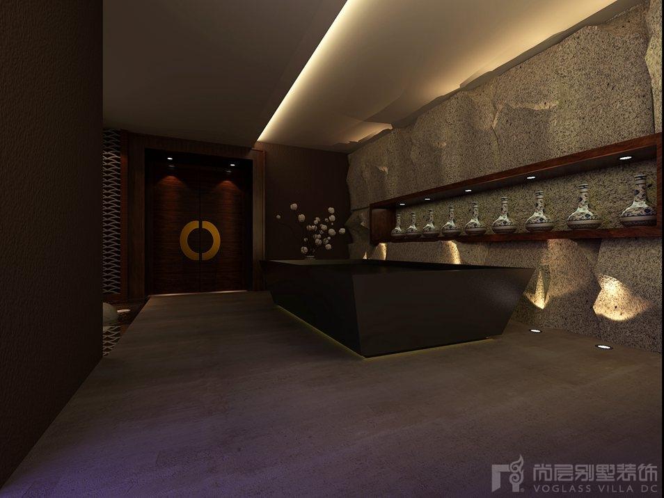 天贵人和新中式展区别墅装修效果图