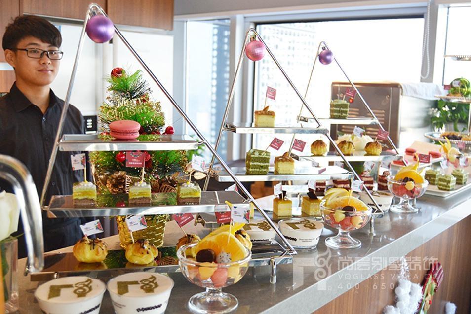 尚层别墅设计狂欢节为客户准备的甜品