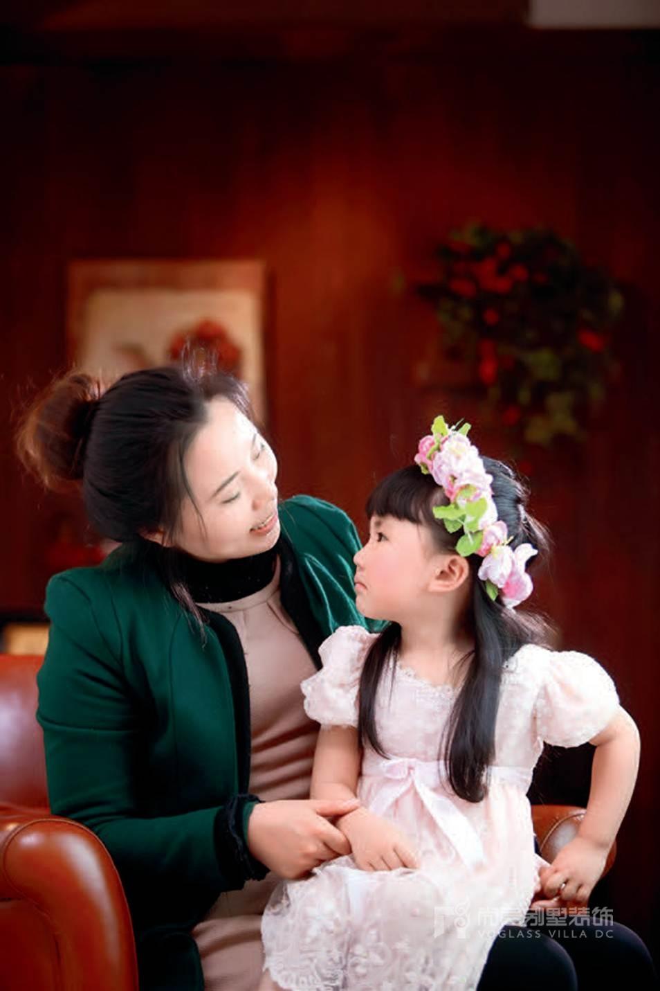 尚层装饰设计师郭红利的女儿
