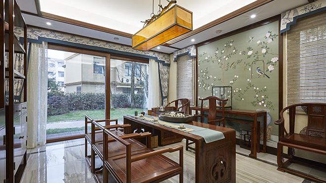 新中式风格-杭州尚层装饰