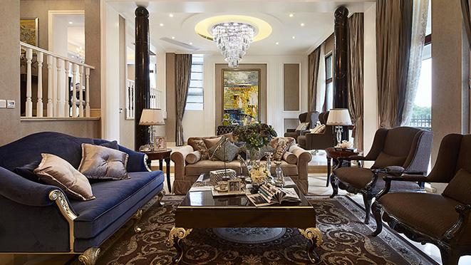 三一亚龙湾 别墅装饰新古典风格