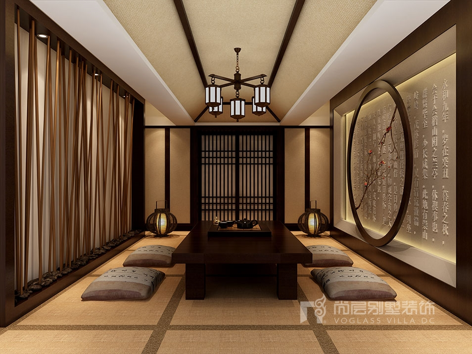 【尚层装饰】新中式风格别墅装修案例鉴赏