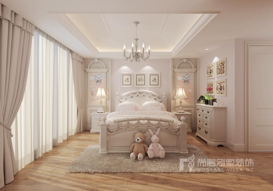 中海尚湖世家欧式女儿房别墅装修效果图