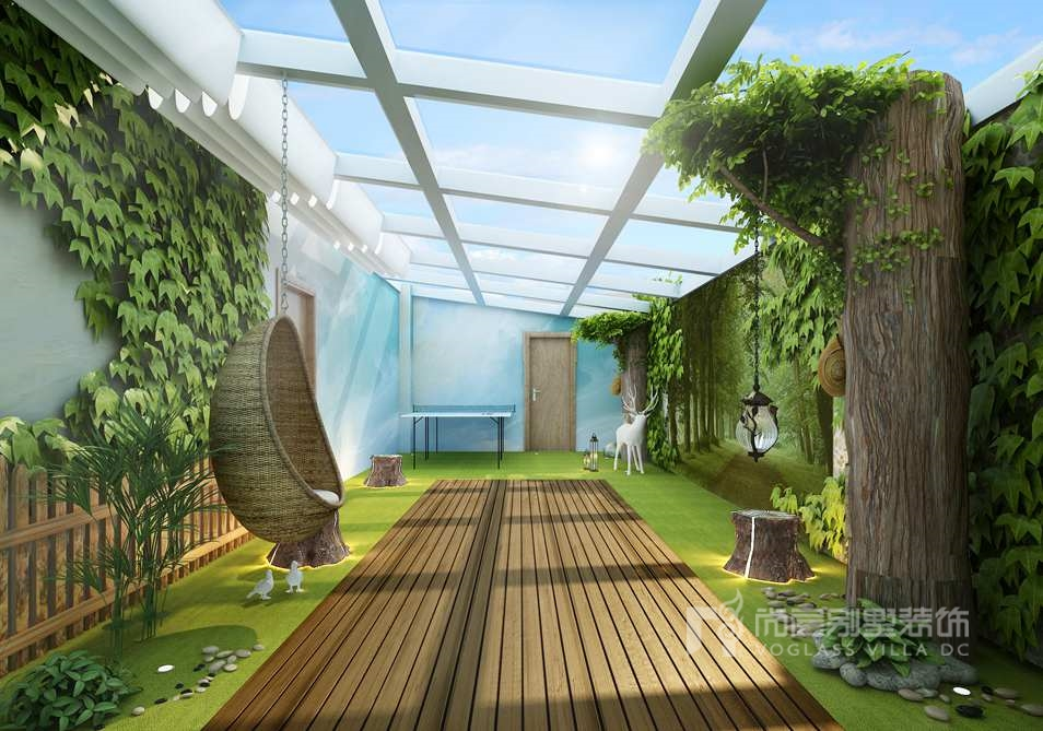尚层装饰设计师徐海萍《亲爱的Villa》别墅装修案例