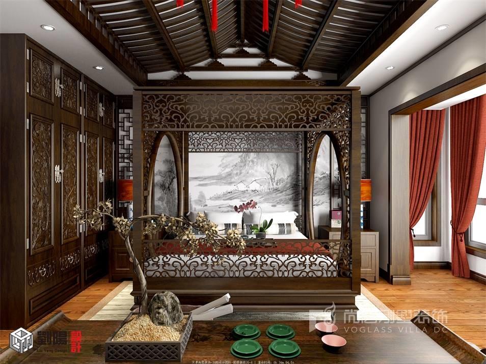 美式风格温馨自然,中式风格大气华贵,两者难道只能选其一?答案是不尽然,就如同本方案为您所展现的,美式风格的壁纸以及略带中式印记的墙板布置也能擦出别样的火花,镜面配合古朴木线修饰的餐厅吊顶,配合餐桌组合的别样寓意,更加凸显我们要表达的一种态度,看似锁在大框架内的中式,也可以温馨热情。