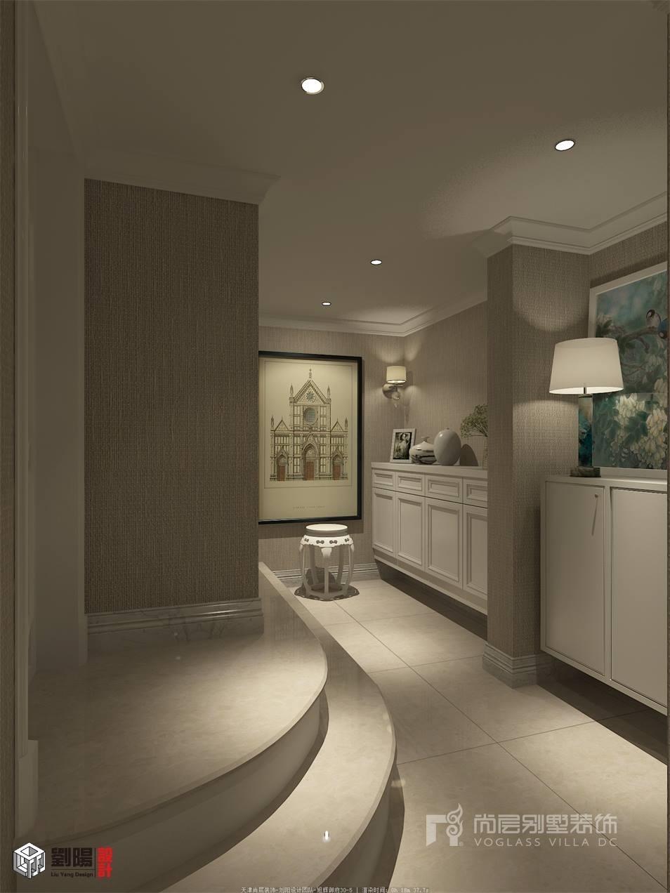 尚层装饰 精益求精的舒服触感 旭辉御府320平米 现代欧式风格 别墅装图片