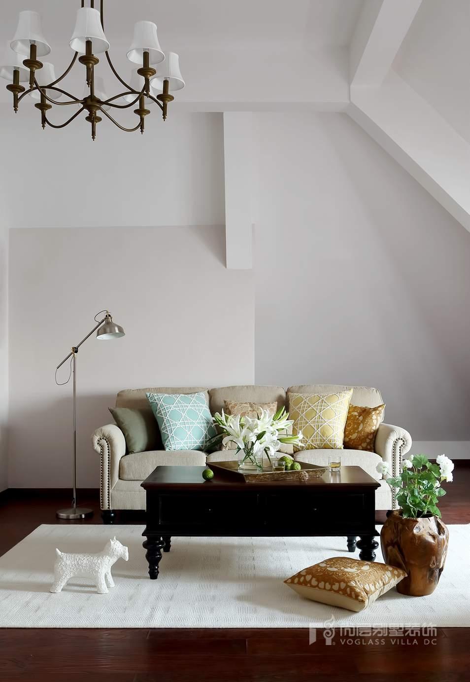 专业软装配饰-客厅实景图