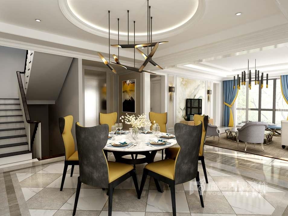 别墅室内设计效果图-餐厅