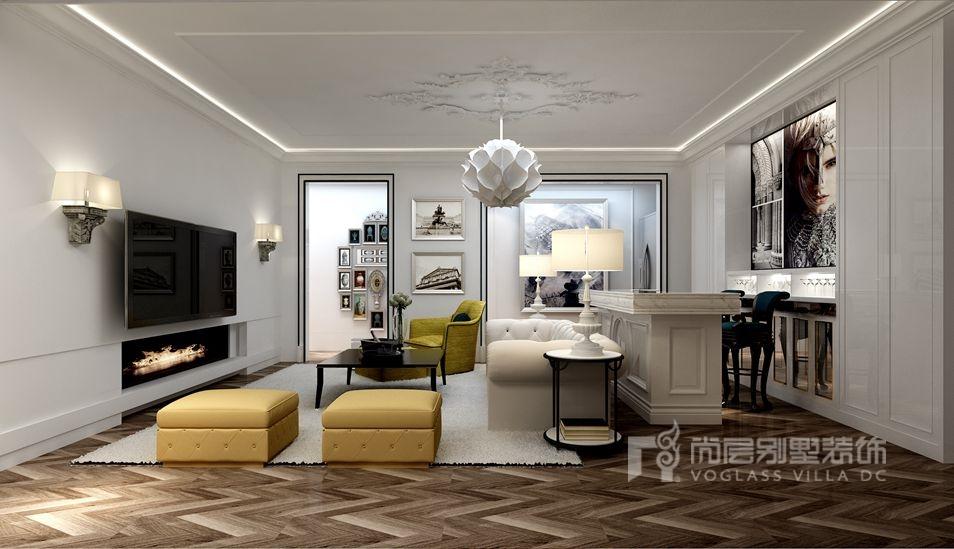 别墅装修案例——现代风格