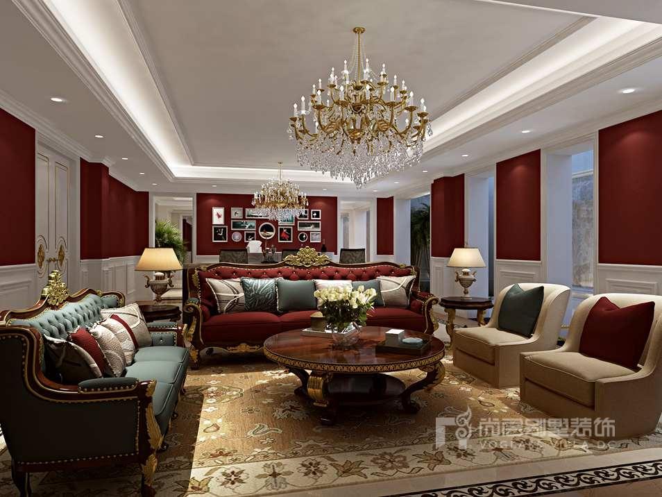 亚运新新家园别墅欧式地下室装修效果图