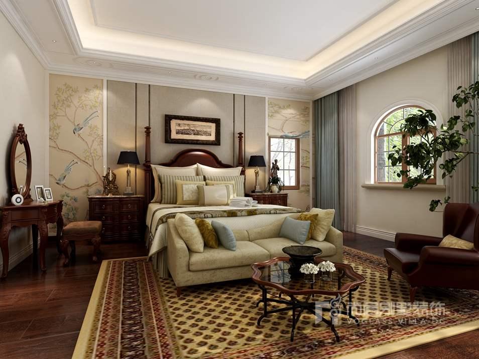 尚层装饰-卧室装修效果图